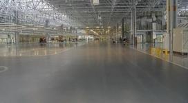 厂房金刚砂耐磨地坪