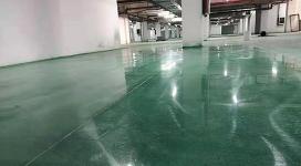 北京固化染色地坪